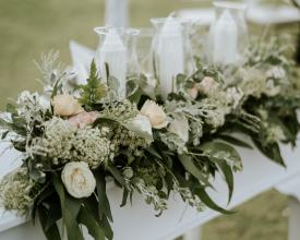 Altar table flower
