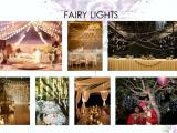 Fairy light set up
