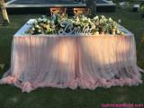 Bridal table for two person