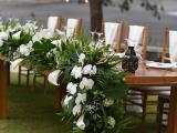 Bridal table centerpiece