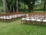 natural tiffany chairs with white cushion