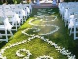 flower aisle design 1