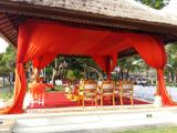 mandap view close up