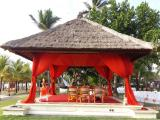 mandap view from left side