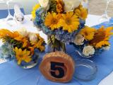Sun flower centerpiece