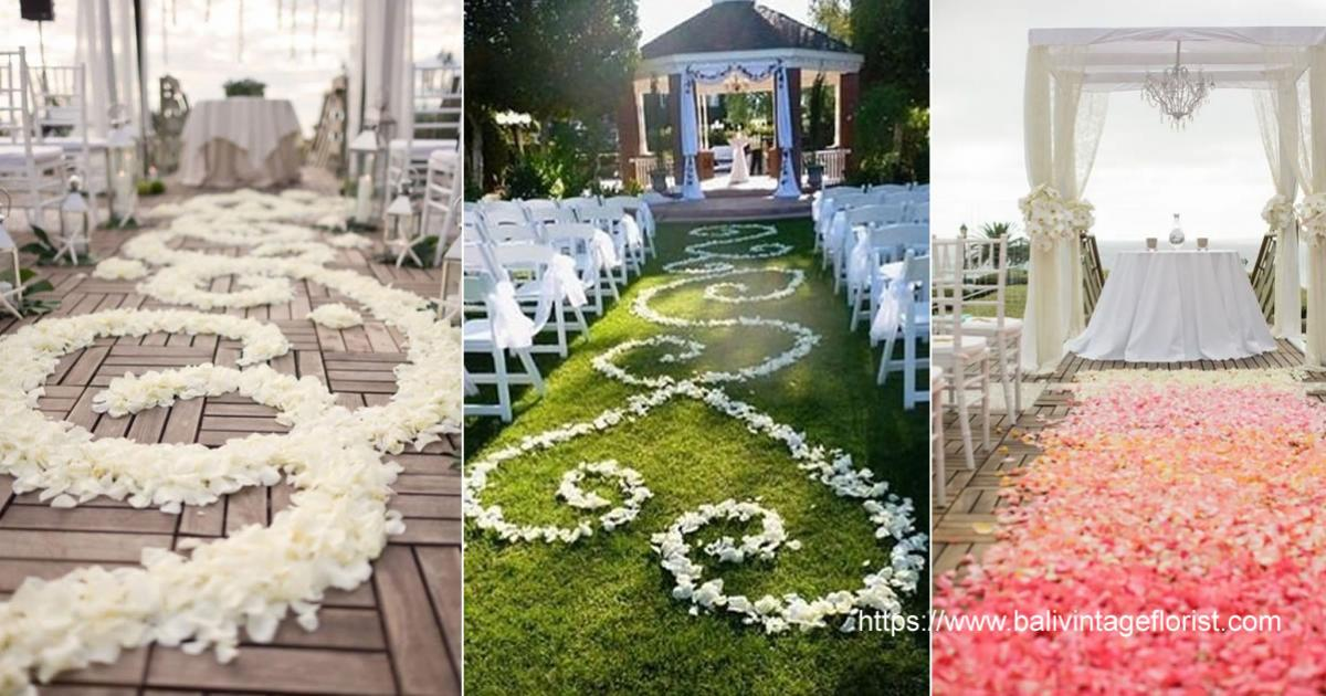 flower aisle design